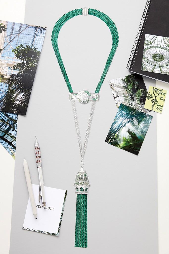 Inspiration - Verrière necklace