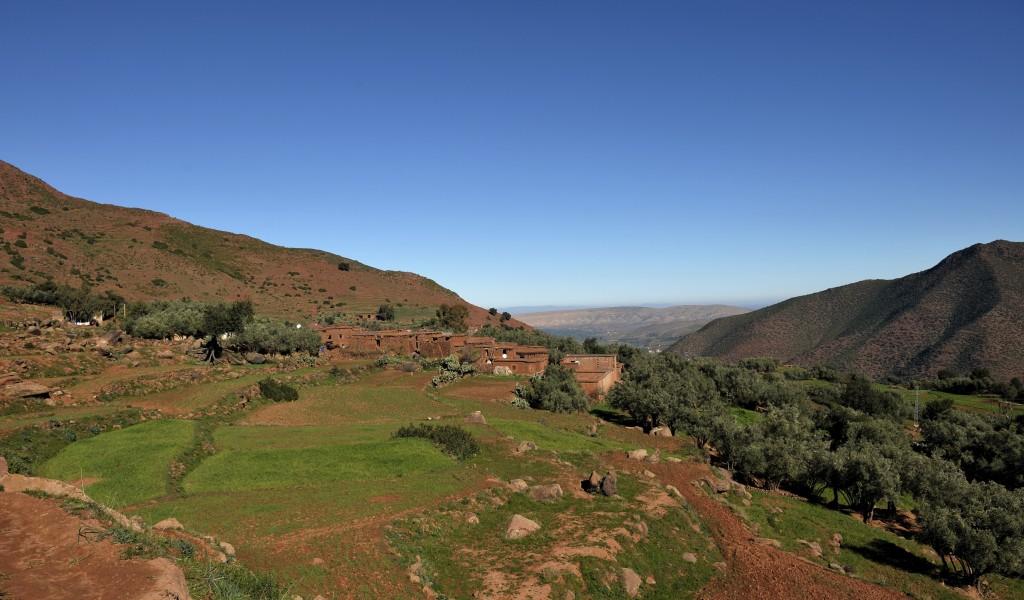 Mountains & Village