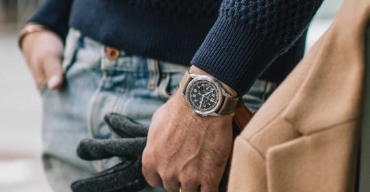 萬寶龍1858系列單按把計時腕錶HODINKEE限量款_情境圖(3)