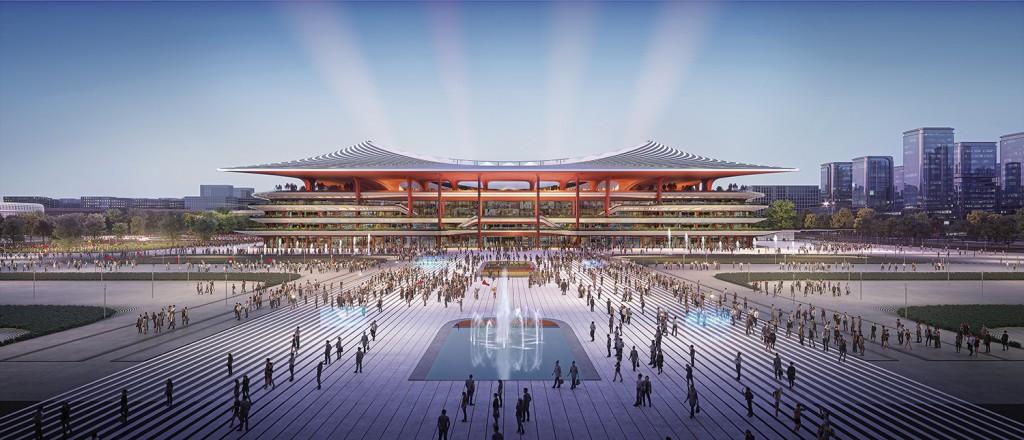 1_ZHA_Xi'an International Football Centre
