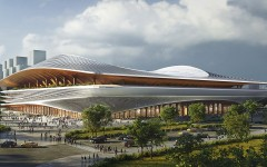 3_ZHA_Xi'an International Football Centre_Render_by_Atchain