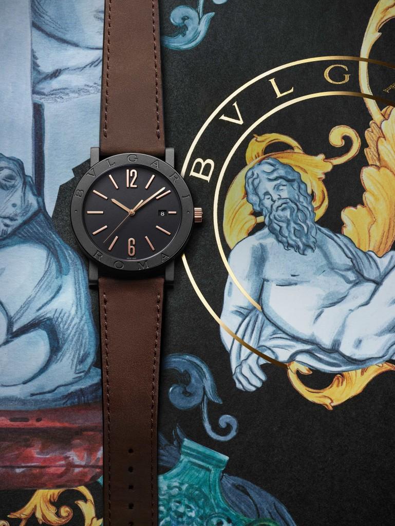 103219_BVLGARI BVLGARI 城市特別版 BVLGARI ROMA腕錶_參考售價約新台幣133,600元_情境圖3(棕色小牛皮錶帶) (1)