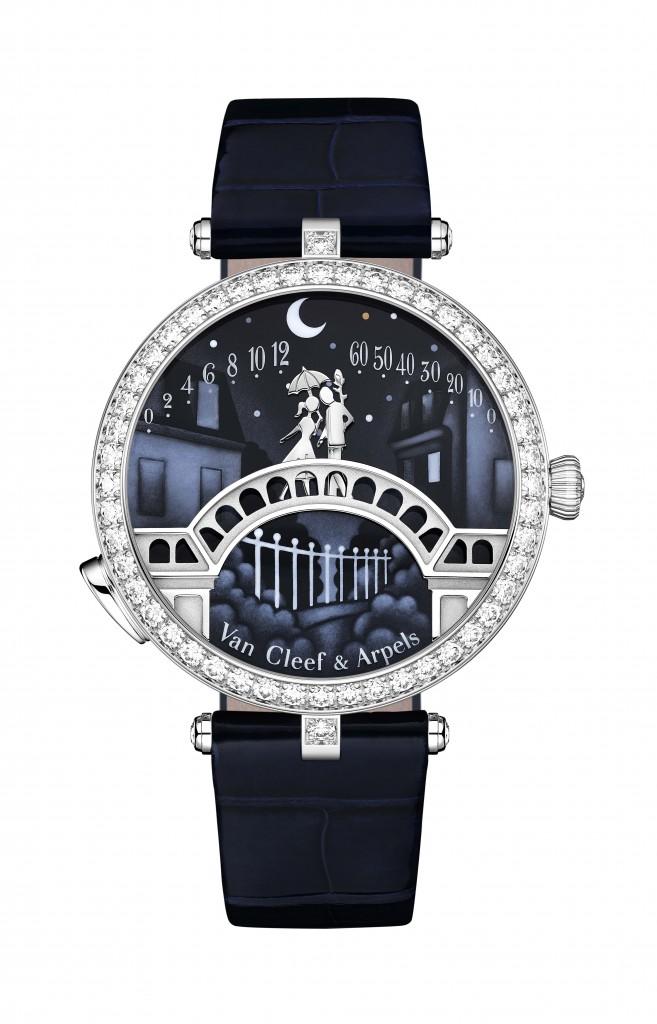 Van Cleef & Arpels - Lady Arpels Pont des Amoureux 腕錶(正面親吻)