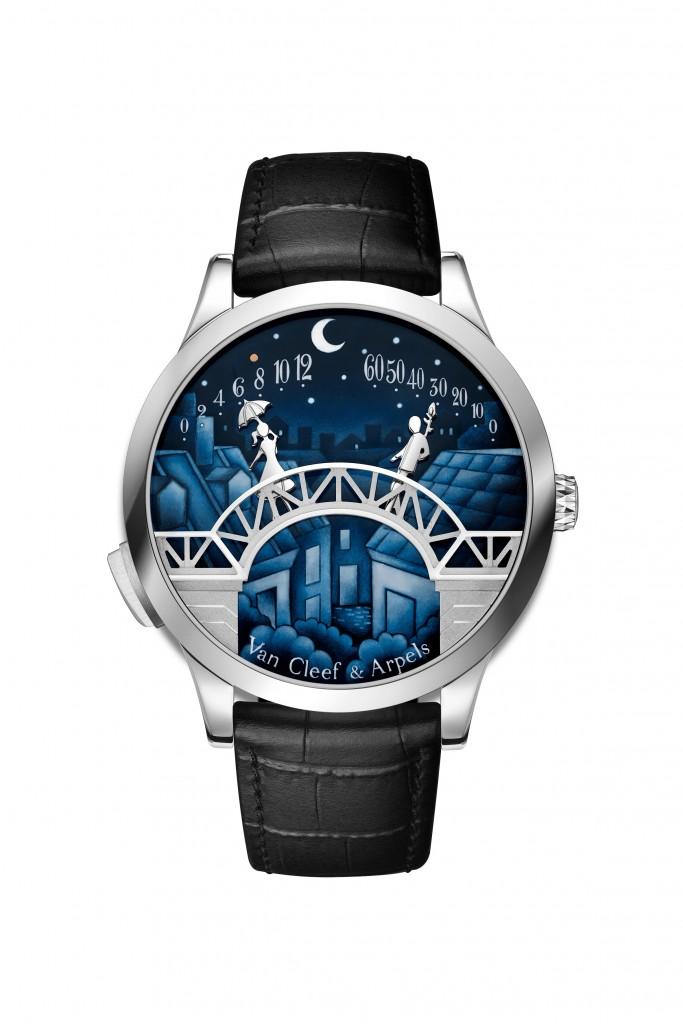 Van Cleef & Arpels - Midnight Pont des Amoureux腕錶(2020年新品)